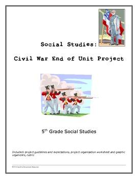 Civil War end of unit Project