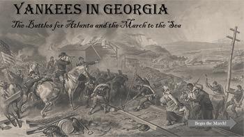 American Civil War - Instructional Game, Atlanta and Sherm