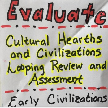 Civilizations and Cultural Hearths Looping Activity and As
