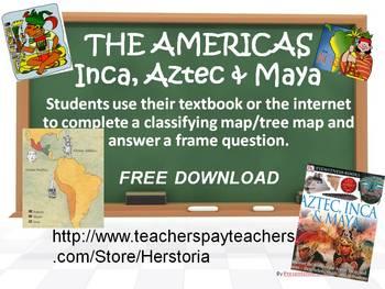 Civilizations of the Americas  Aztecs, Maya, & Inca -Tree
