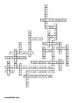 Civilizations of the Americas Vocabulary Crossword for Wor