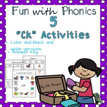 """""""Ck"""" Worksheets"""