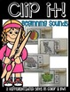 CLIP IT LITERACY CENTERS: Beginning sounds, ending sounds,