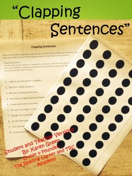 Clapping Sentences