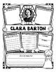 Clara Barton Organizer For Guided Research