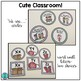 Cute Classroom! (purple and turquoise polka dot alphabet a