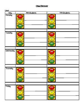 Class Behavior Tracker