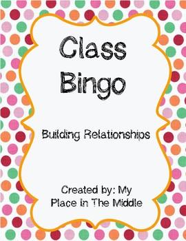 Class Bingo