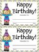 Class Birthday Board - Sweet and Sunny Theme {Yellow and Grey}