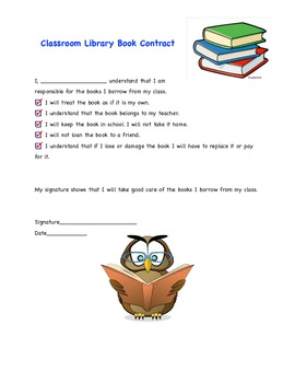 Class Book Contract