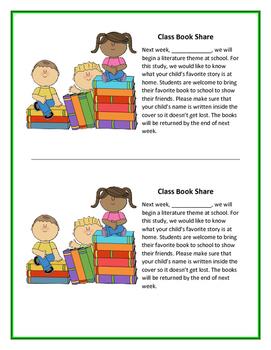 Class Book Share
