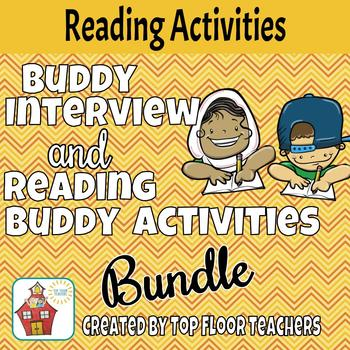 Buddy Interview and Reading Buddy Activities