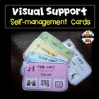 Visual Support cards for Classroom Management.