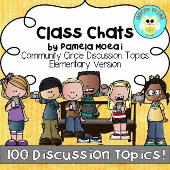 Community Circle Conversation Prompts - Elementary Version
