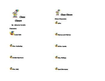 Class Clown Bookmark