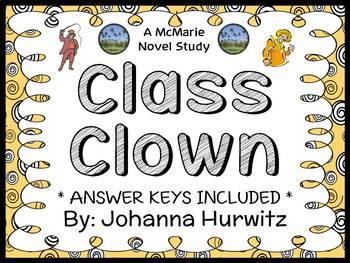 Class Clown (Johanna Hurwitz) Novel Study / Comprehension