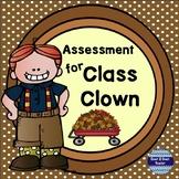 Class Clown by Johanna Hurwitz Assessment