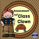 Class Clown by Johanna Hurwitz Assessment