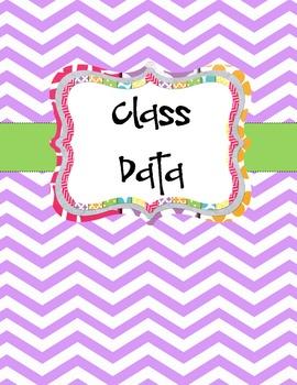 Class Data Binder Cover