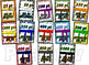 Class Dojo Belts brag tags & clothes pin chart! Colorful f