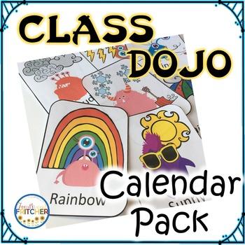 Class Dojo Calendar Pack