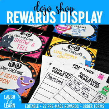 Class Dojo Rewards Display