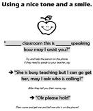 Class Economy - Secretary Phone Prompt