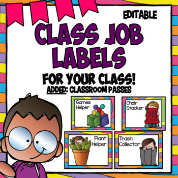 Class Helpers- Whimsical