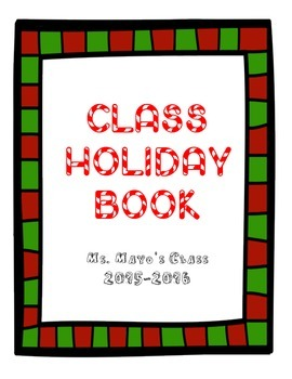 Class Holiday Book
