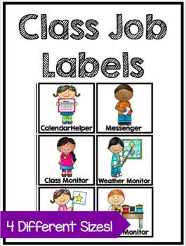 Class Job Labels