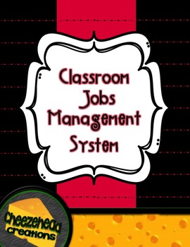 Class Job Management System with Editable Files!