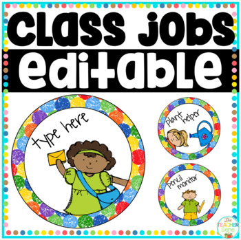 Class Jobs Chart (Posters/Signs)