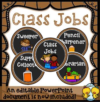 Class Jobs (Neutrals)