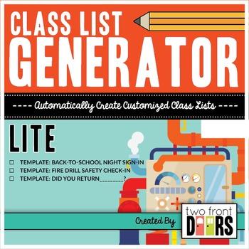 Class List Generator