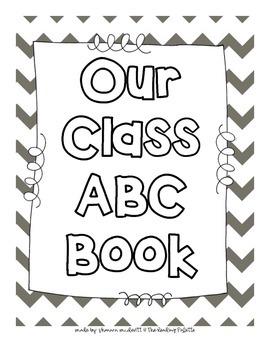 Class Made Alphabet Book