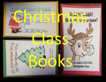 Class Made Book Set Christmas