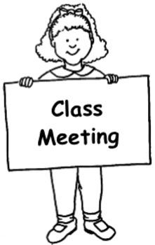 Class Meeting Agenda Template