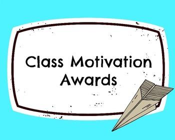 Class Motivation Awards