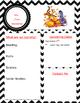 Class Newsletter Disney (Editable)
