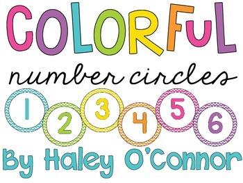 Class Number Circles