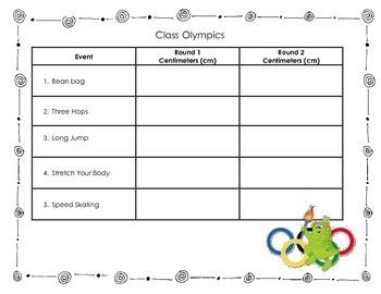 Class Olympics
