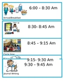Class Picture Schedule