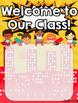 Class Roster (Superhero Theme)