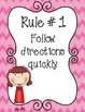 Classroom Rules {Posters}