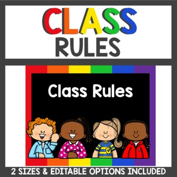 Class Rules in primary and black