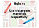 Class Rules Posters