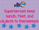 Class Rules - Superhero Rules