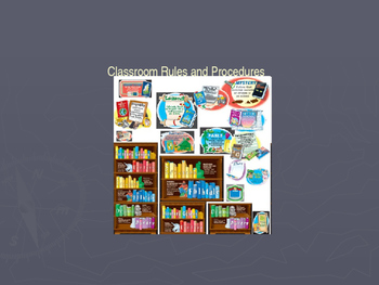 Class Rules and Procedures PowerPoint - Back to School