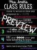 Class Rules with Hashtags - Elementary Edition
