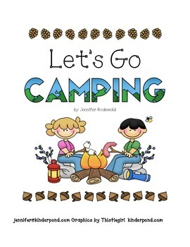 Class book: Let's Go Camping